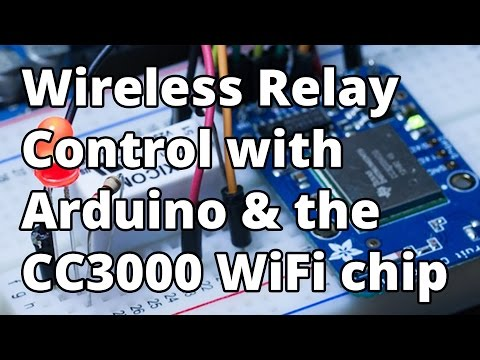 Arduino CC3000 WiFi Module - YouTube
