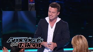 Magician Wows Judges With Card Trick - America's Got Talent 2014