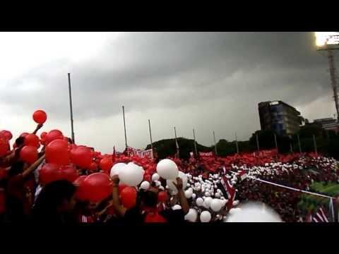 Barra del caracas fc torneo apertura 2013 - Los Demonios Rojos - Caracas