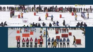 Игра в снежки в Японии