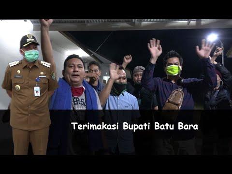 Ungkapan kebahagiaan pekerja migran asal Batu Bara yang di pulangkan