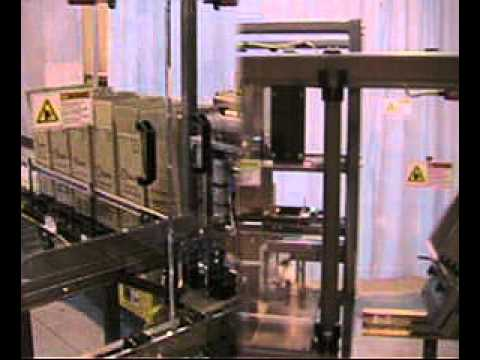 HL350SA Paper Plates Semi-Automatic Side Load Case Packer