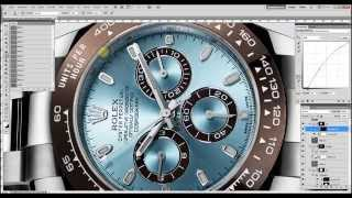Speed Retouching Rolex Daytona Platinum