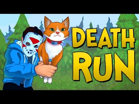 THE ULTIMATE CAT FIGHT!! - Gmod Deathrun Funny Moments (видео)