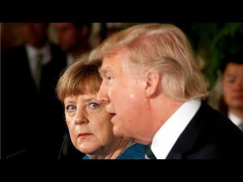Меркель и Трамп — о России и корейское примирение | АМЕРИКА | 27.04.18 - DomaVideo.Ru
