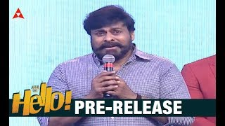Chiranjeevi Superb Speech At HELLO Movie Pre Release Event