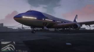 This video shows the use of Air Force One online....I just hope you have a better pilot than mine. This mod allows online players to fly the aircraft and wal...