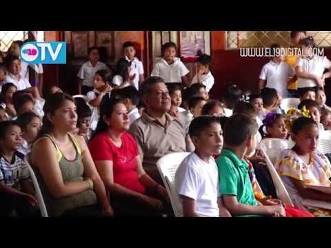 Escuela estrena servicios sanitarios Masaya