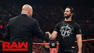 Nonton Kurt Angle reveals Seth Rollins' fate: Raw, April 10, 2017 Film Subtitle Indonesia Streaming Movie Download
