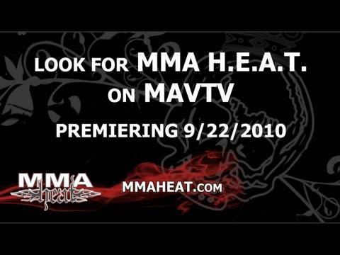MMA Heat going to Cable network tv MAVTV on September 22
