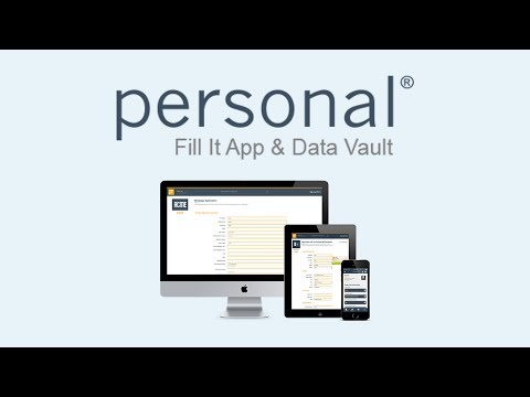 Video of Personal.com Data Vault