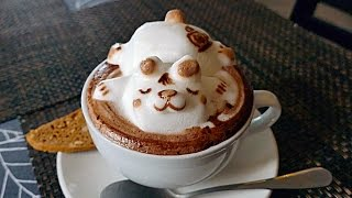 Video INCREDIBLE 3D COFFEE ART - CUTEST COFFEE YOU'LL EVER SEE! Lion, Cat, Panda, Sleeping Bear MP3, 3GP, MP4, WEBM, AVI, FLV Juni 2018