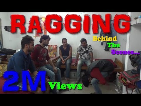 Ragging Short Film | Behind The Scenes ( 2M Views Special )