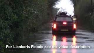 Llanrug United Kingdom  city pictures gallery : North Wales floods Llanrug and llanberis floods North Wales