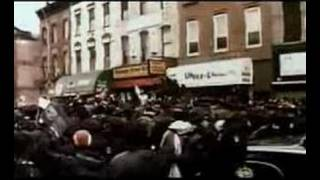 Notorious BIG  funerals  - Tribute in Brooklyn