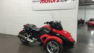 8. 2008 Can-Am Spyder GS  SOLD Roadster SM5 Local Trade 12xxx kms Munro Motors