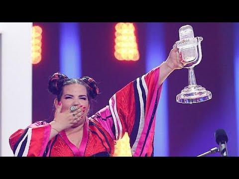 العرب اليوم - شاهد:إسرائيل تفوز بنهائي مسابقة يوروفيغين 2018 في لشبونة