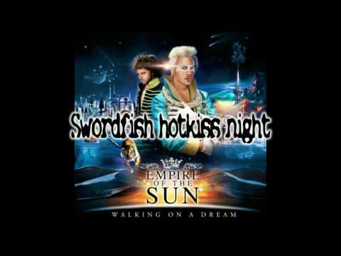 Tekst piosenki Empire of The Sun - Swordfish Hotkiss Night po polsku