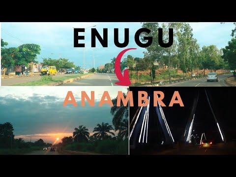 ENUGU TO ANAMBRA | A Road Trip to Anambra State from Enugu Nigeria in 2020