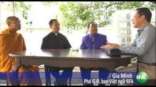 Phái đoàn liên tôn giúp người Việt tị nạn ở Thái Lan