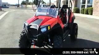 1. 2013 Polaris RZR S 800 Indy Red  - RideNow Powersports Tu...
