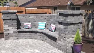 Paver Patio and walkway.
