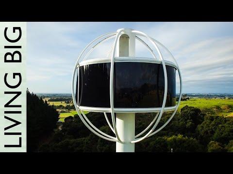 Tästä poikamiesboxista on huikeat näkymät – Futuristinen asunto tolpan nokassa