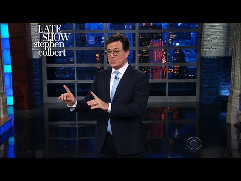 Stephen Colbert Summarizes <i>The Devil&#8217;s Bargain</i>