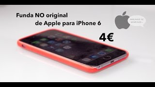 Análisis funda NO original de piel para iPhone 6 de Apple, iPhone, Apple, iphone 7