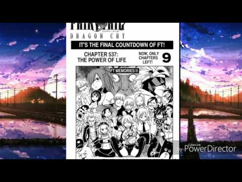Fairy Tail Chapter: 537 Full (English)