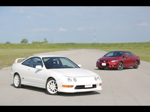 civic - In search of front-wheel drive greatness http://www.autoguide.com/car-comparisons/2013-honda-civic-si-vs-1998-acura-integra-type-r-2729.html Subscribe http:/...