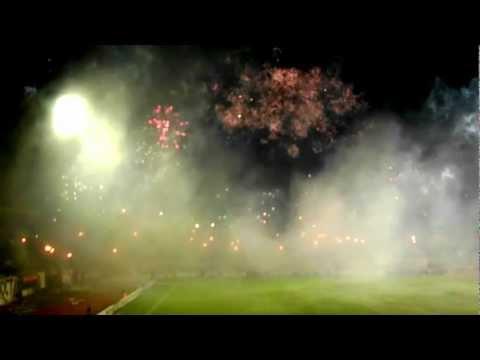 Recibimiento de Caracas FC vs Fluminense - LOS DEMONIOS ROJOS - Los Demonios Rojos - Caracas