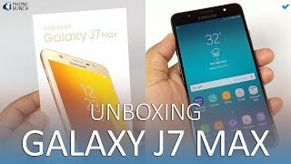 Samsung Galaxy J7 Max Unboxing, with a hands-on overview of all its new features, Samsung Pay Mini, Smart Glow and Social Camera. The Galaxy J7 Max comes with a 5.7-inch 1080p Full HD display, fingerprint sensor, octa-core MediaTek Helio P20 processor and 4GB RAM. It runs on Android 7.0 Nougat with Samsung Experience skin, same as the Galaxy S8.Samsung Galaxy J7 Max Pricing and Availability:http://www.phonebunch.com/news/samsung-galaxy-j7-pro-and-galaxy-j7-max-launched-samsung-pay-start-rs-17900_3787.htmlSamsung Galaxy J7 Max Full Specifications:http://www.phonebunch.com/phone/samsung-galaxy-j7-max-2963/Subscribe on YouTube, to get videos first:http://www.youtube.com/subscription_center?add_user=PhoneBunchFollow PhoneBunch:http://www.phonebunch.comhttp://www.facebook.com/phonebunchhttp://www.twitter.com/phonebunchFollow Abhinav Pathak (Editor):https://www.facebook.com/Abhi.IKnowIThttp://www.twitter.com/exoleteIntro Music:Artist: Nicolai HeidlasTitle: Get Up!