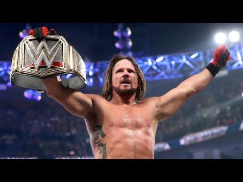 WWE Clash of Champions 2017 / A J Styles Vs Jinder mahal Full match