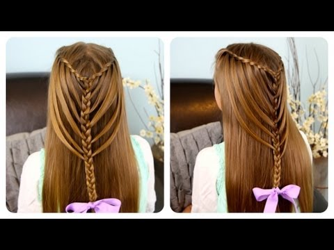 Waterfall Twists into Mermaid Braid | Cute Girls Hairstyles