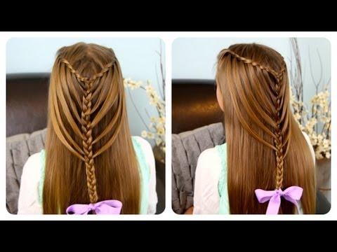 capelli a cascata come una vera sirena in 10 minuti - tutorial