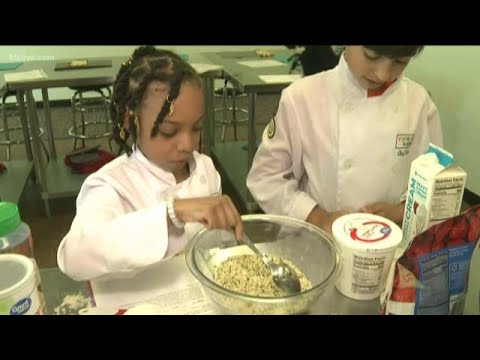 Cooking Lessons At Young Chefs Academy