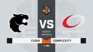 FURIA vs compLexity, map 1 inferno, ECS Season 7 North America