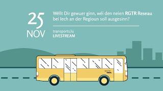 RGTR - Le nouveau réseau de bus RGTR dans la région de Wiltz