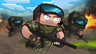 Play MINECRAFT as a MARINE! (Black OPs Mission)