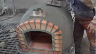 http://www.my-barbecue.co.uk - available for sale from: 01/03/2015 High quality Wood fired brick ovens 100% insulated with ...