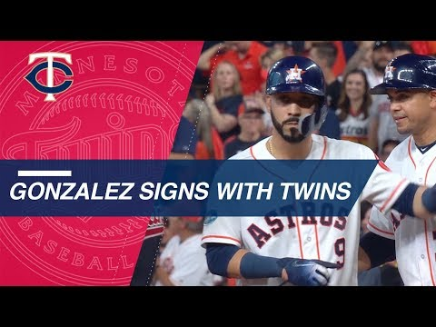 Video: Marwin Gonzalez enters free agency at age 29