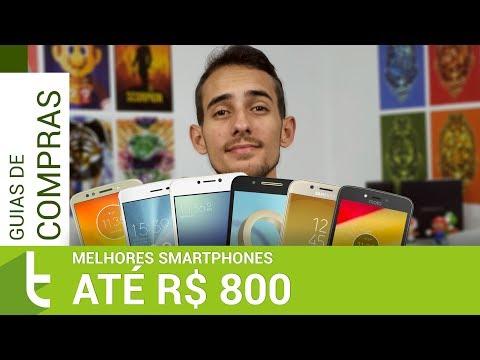 Tudocelular - TOP 10 melhores smartphones por até R$ 800 para comprar no Brasil