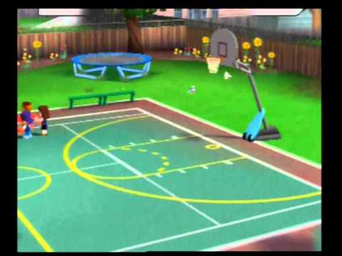 Kidz Sports Basketball Playstation 2