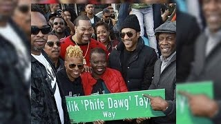 Rosenberg Speaks at Phife Dawg's Street Naming