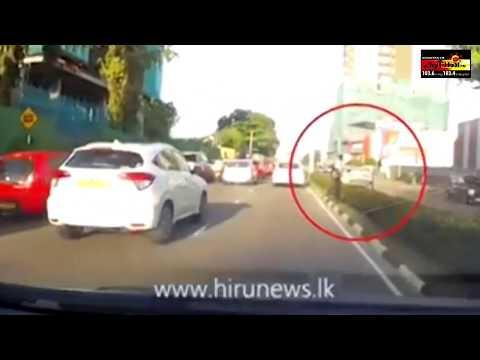 பொரளையில் இடம்பெற்ற கோர விபத்து | Borella Accident Video | Sooriyan News | Sri Lanka latest News