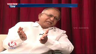 Interview Time With Senior Congress Leader Jaipal Reddy