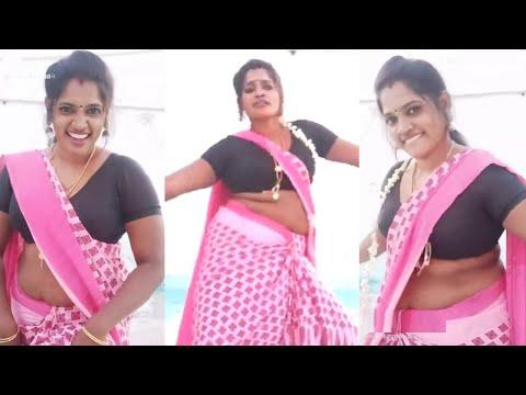 """""""மீண்டும் கவர்ச்சியில் இறங்கிய திருச்சி சாதனா"""" Trichy Sathana Latest Hot Snack Sadhana TikTok Videos"""