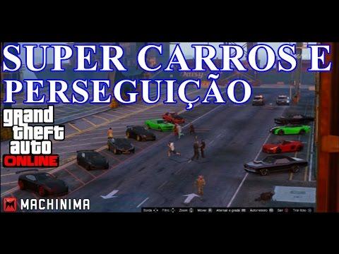 Gta 5 online 1.15: Super carros e perseguição policial! (видео)