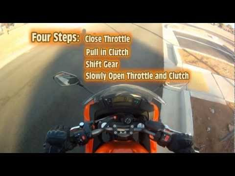 Motorcycle Lesson: Shifting Gears